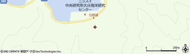 大分県佐伯市鶴見大字有明浦521周辺の地図