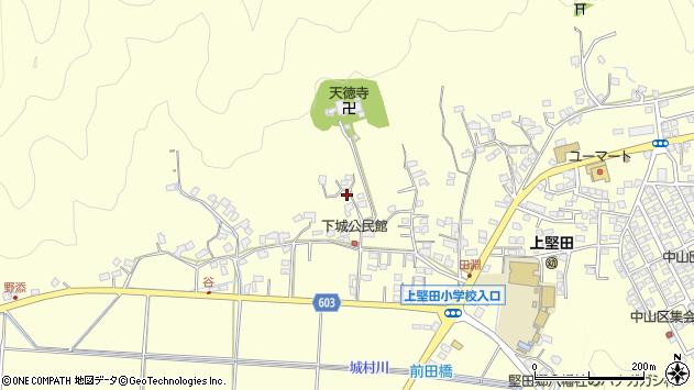 大分県佐伯市長谷9436周辺の地図