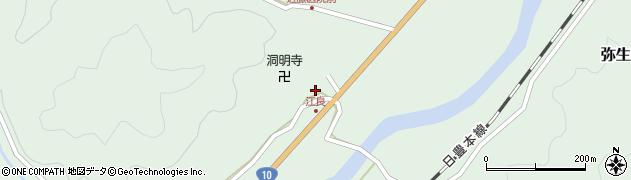 大分県佐伯市弥生大字江良1049周辺の地図
