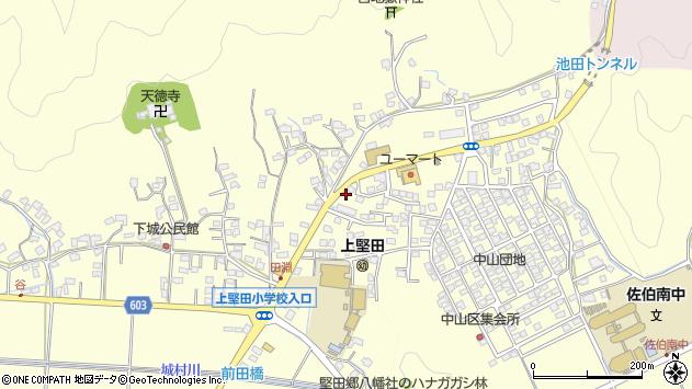 大分県佐伯市長谷9065周辺の地図