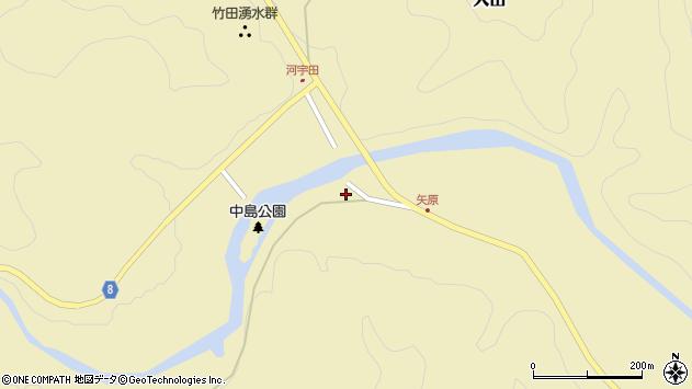 大分県竹田市入田1381周辺の地図