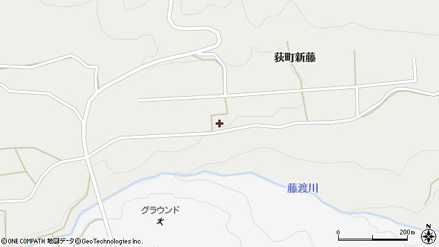 大分県竹田市荻町新藤69周辺の地図
