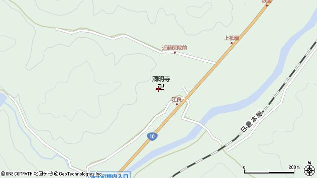 大分県佐伯市弥生大字江良998周辺の地図