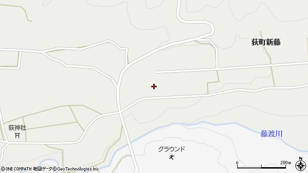 大分県竹田市荻町新藤420周辺の地図