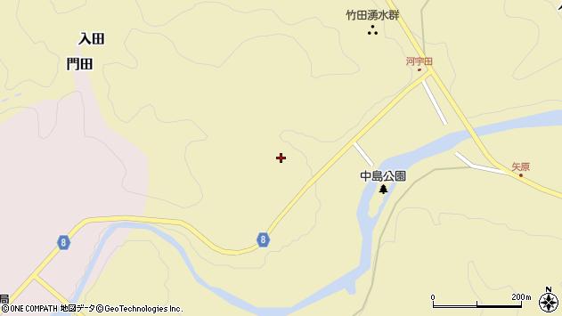 大分県竹田市入田203周辺の地図