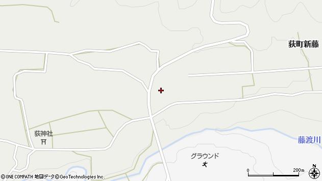大分県竹田市荻町新藤454周辺の地図