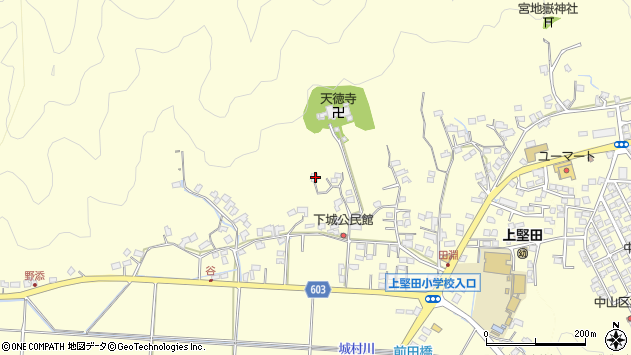 大分県佐伯市長谷9424周辺の地図