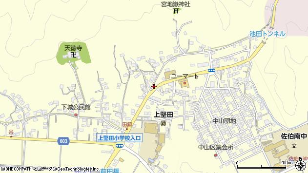 大分県佐伯市長谷9062周辺の地図