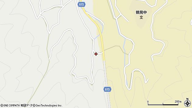 大分県佐伯市鶴見大字地松浦1875周辺の地図