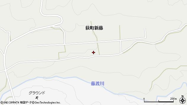 大分県竹田市荻町新藤125周辺の地図