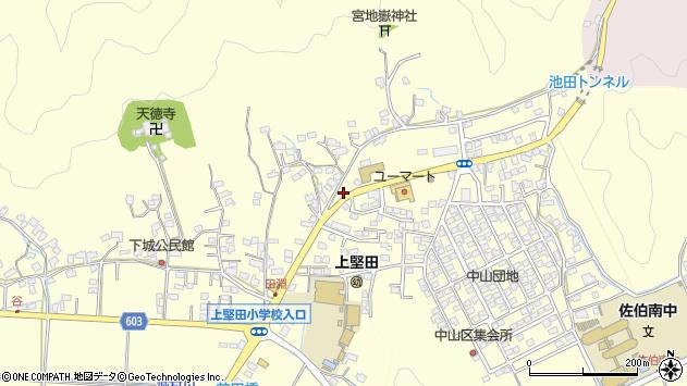 大分県佐伯市長谷9051周辺の地図