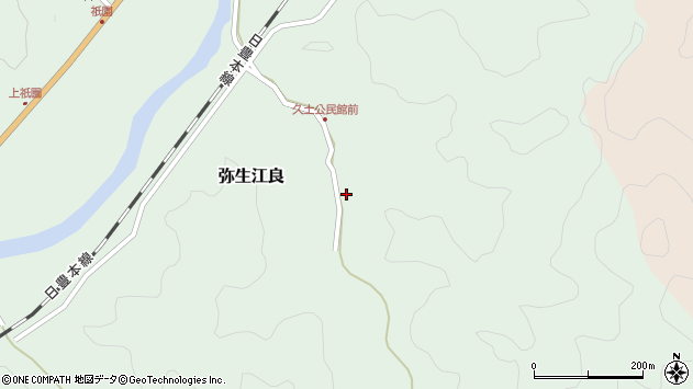 大分県佐伯市弥生大字江良2662周辺の地図