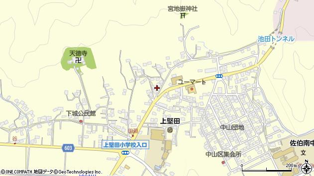大分県佐伯市長谷9052周辺の地図