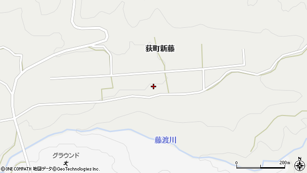 大分県竹田市荻町新藤127周辺の地図