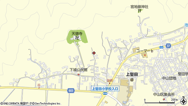 大分県佐伯市長谷9367周辺の地図
