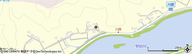 大分県佐伯市長谷10710周辺の地図