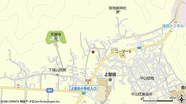 大分県佐伯市長谷9205周辺の地図