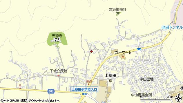 大分県佐伯市長谷8925周辺の地図