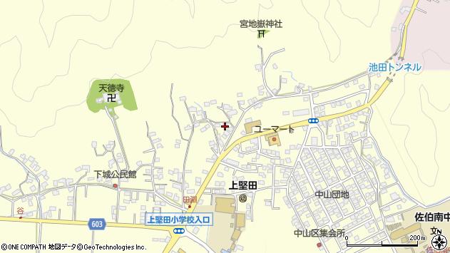 大分県佐伯市長谷9054周辺の地図