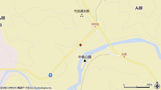 大分県竹田市入田16周辺の地図