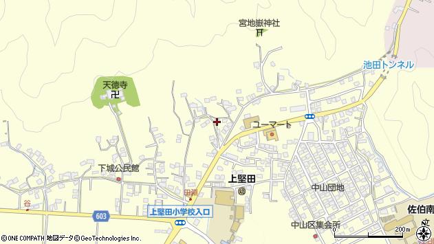 大分県佐伯市長谷9195周辺の地図