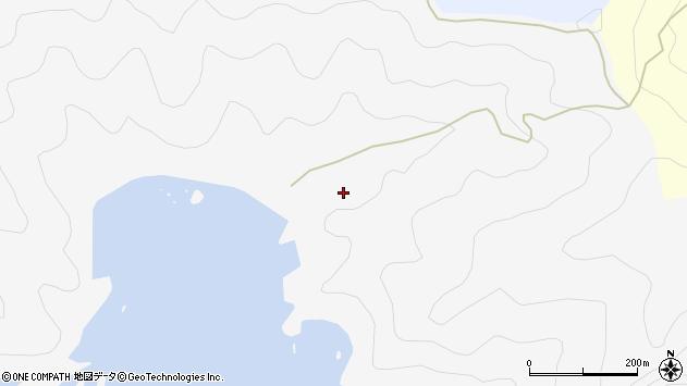 大分県佐伯市米水津大字浦代浦芳ケ浦周辺の地図