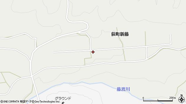 大分県竹田市荻町新藤92周辺の地図