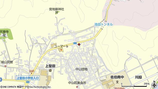 大分県佐伯市長谷10250周辺の地図