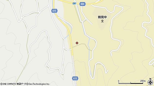 大分県佐伯市鶴見大字沖松浦89周辺の地図