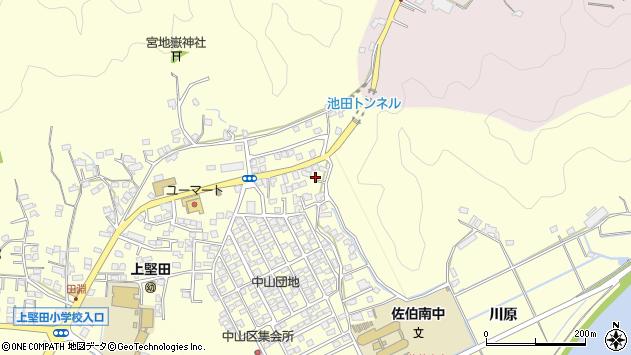 大分県佐伯市長谷10354周辺の地図