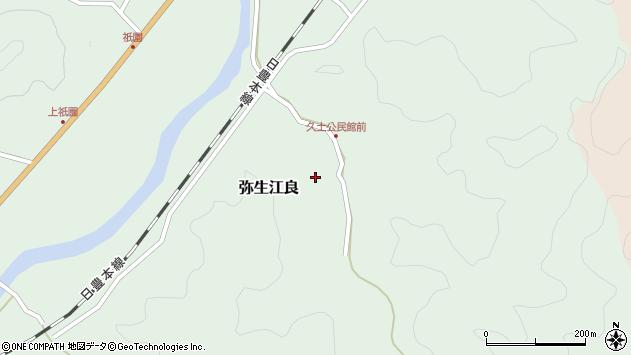 大分県佐伯市弥生大字江良2679周辺の地図