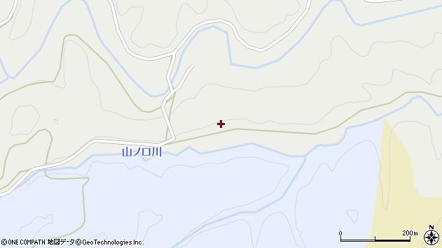 大分県竹田市荻町南河内1491周辺の地図