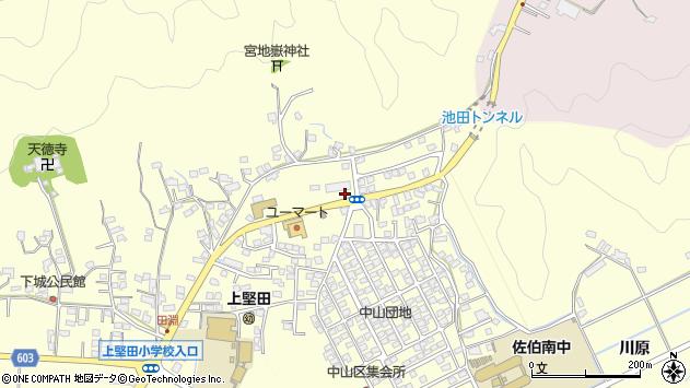 大分県佐伯市長谷10259周辺の地図
