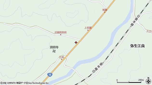 大分県佐伯市弥生大字江良1375周辺の地図
