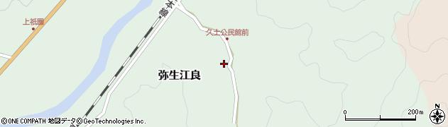 大分県佐伯市弥生大字江良2678周辺の地図