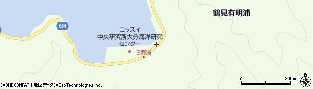 大分県佐伯市鶴見大字有明浦732周辺の地図