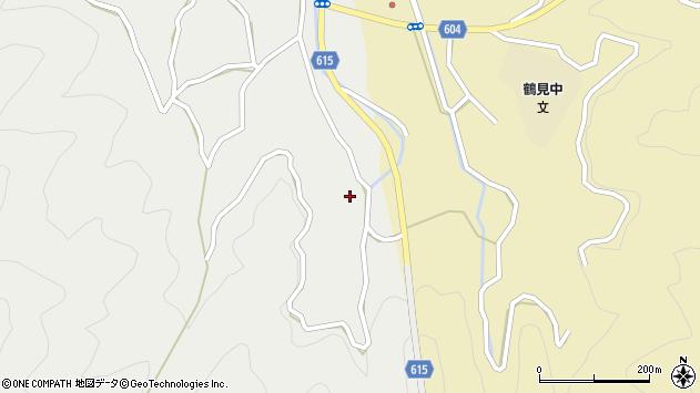 大分県佐伯市鶴見大字地松浦1795周辺の地図