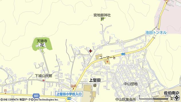 大分県佐伯市長谷9023周辺の地図