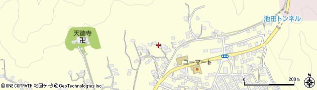 大分県佐伯市長谷9008周辺の地図