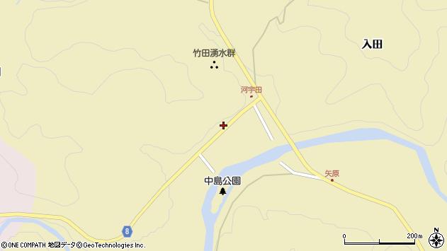 大分県竹田市入田33周辺の地図