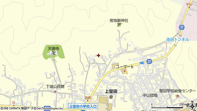 大分県佐伯市長谷9006周辺の地図