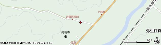 大分県佐伯市弥生大字江良1353周辺の地図