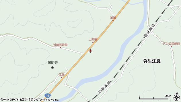 大分県佐伯市弥生大字江良1937周辺の地図