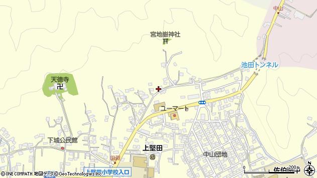 大分県佐伯市長谷9042周辺の地図