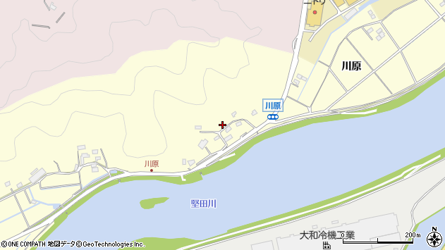 大分県佐伯市長谷10767周辺の地図