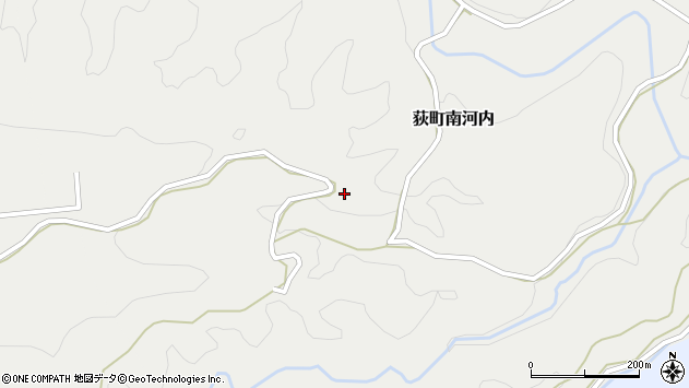 大分県竹田市荻町南河内1102周辺の地図