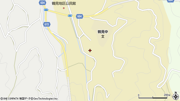 大分県佐伯市鶴見大字沖松浦407周辺の地図