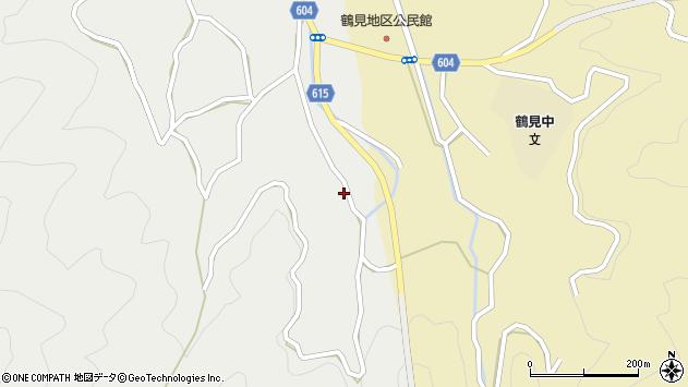 大分県佐伯市鶴見大字地松浦1705周辺の地図