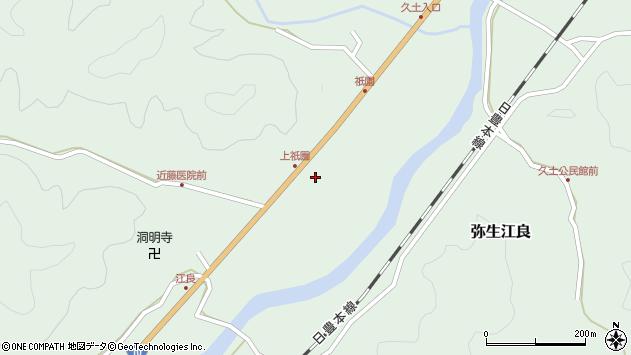 大分県佐伯市弥生大字江良1941周辺の地図