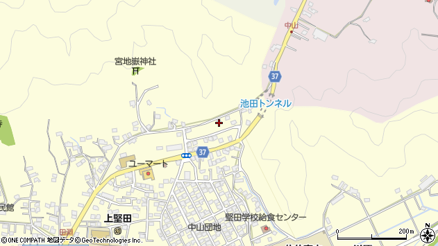 大分県佐伯市長谷10326周辺の地図